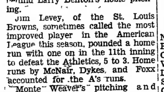 """- pitching. """" jim Levey, of the St. Louis Browns,..."""