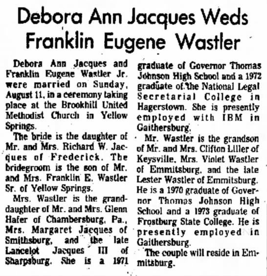 Debora Jacques wedding