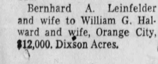 8/20/1959 - Bernhard A. Leinfelder and wife to William G....