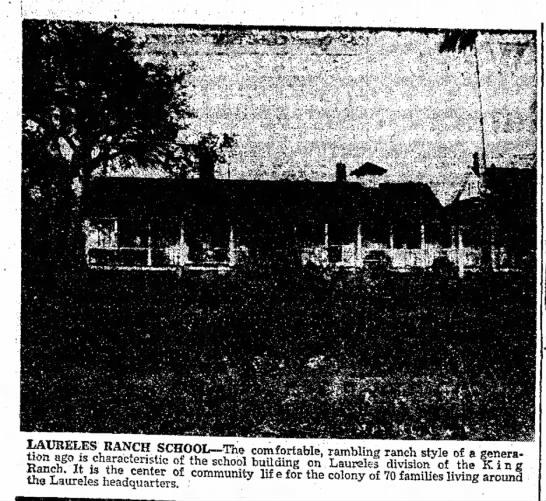Laureles Ranch - School Building - ^r^f \ RAI W SCHOOL-The comfortable, rambling...