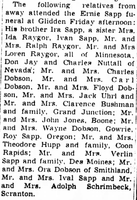 Ernie Sapp