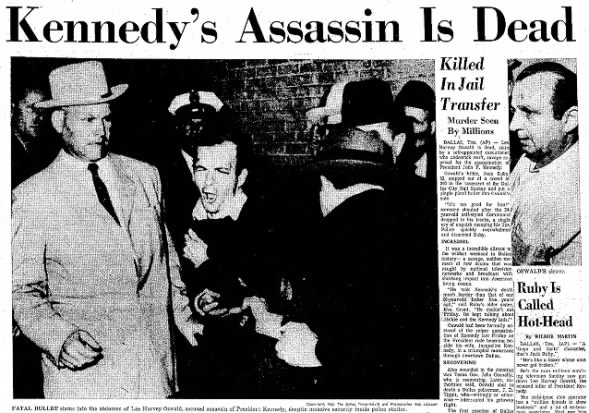 Kennedy's Assassin is Dead - Nov 25, 1963