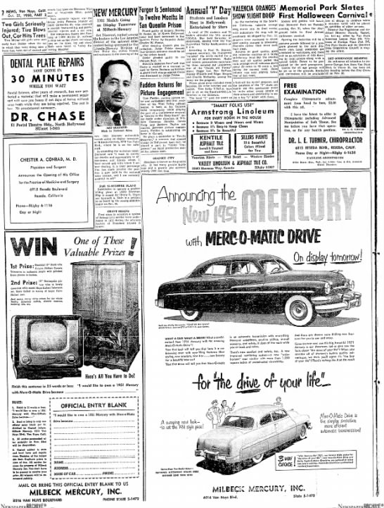 - NEWS, Von Nuys, Calif. 0 L :. 23. 1950, PART 2|...
