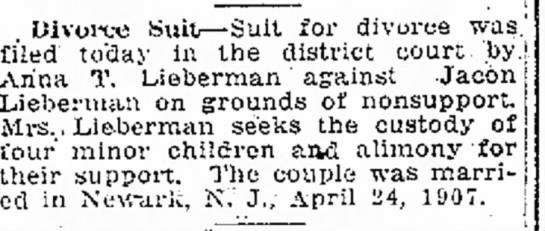 Divorce Filing