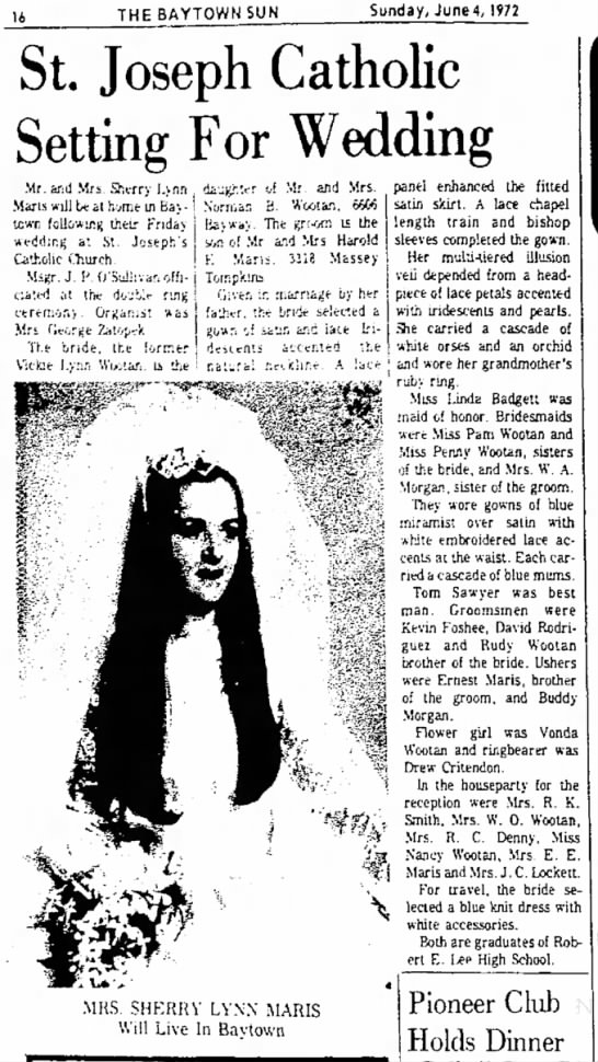MARIS wedding