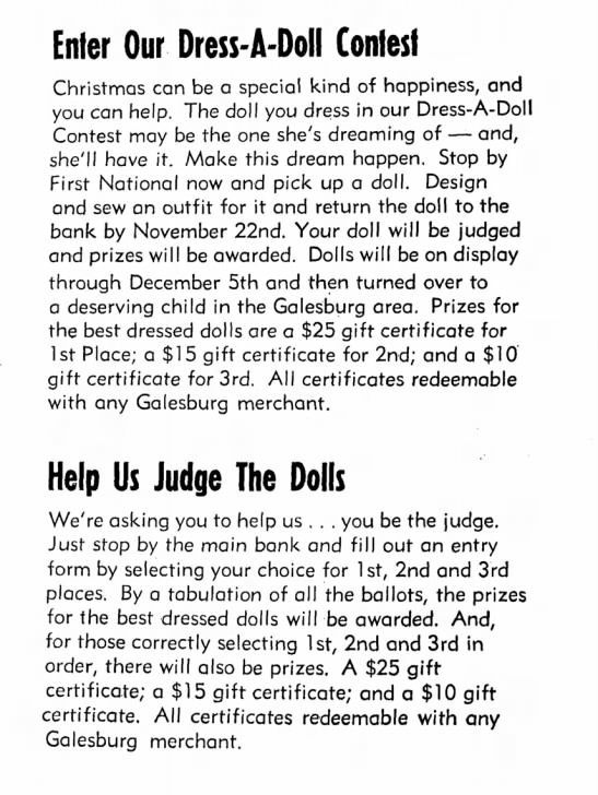 - Enter Our Dress-A-Doll Contest Christmas can be...