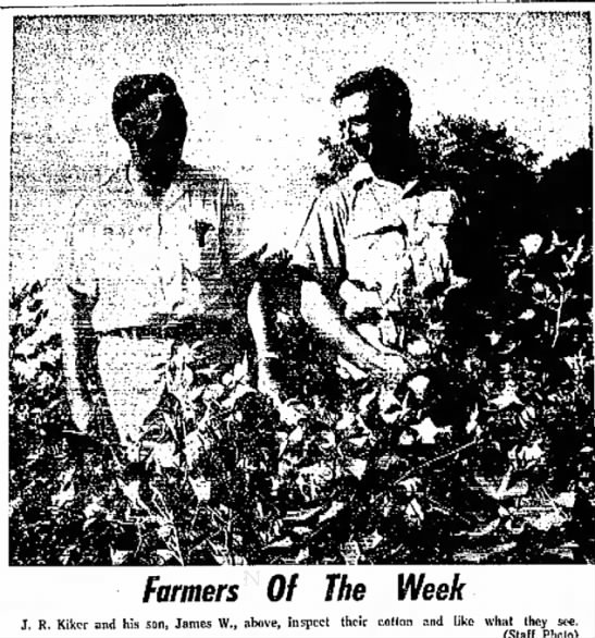 james roland and james William Kiker,Fri aug 10 1962 Delta Democrat 1