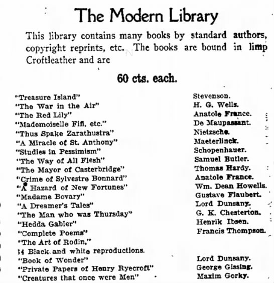 - are flexible The Modern Library This library...