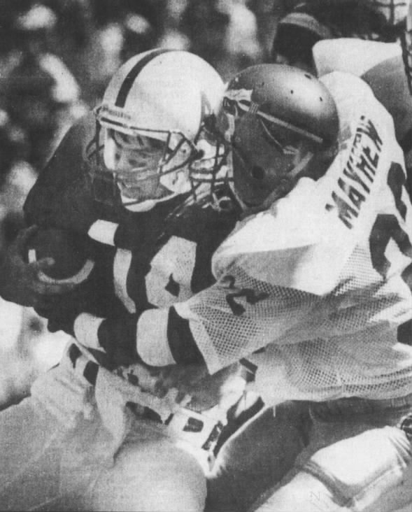 1985 Nebraska-Florida State, Travis Turner