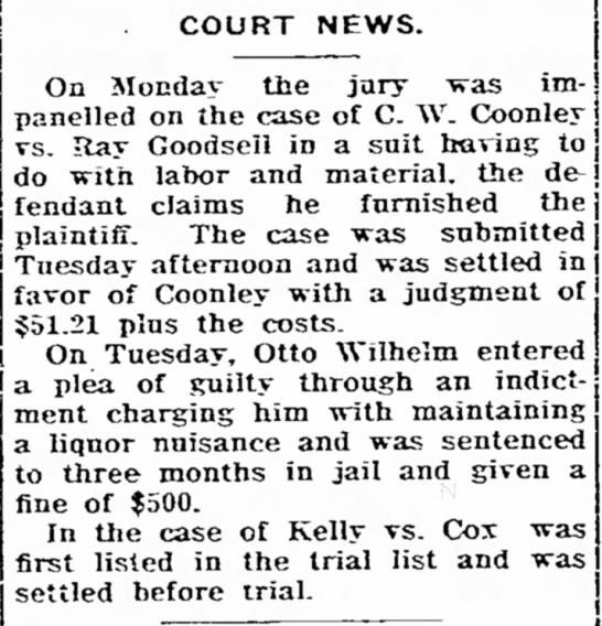 Greene Recorder, Dec 17, 1930 - j j COURT NEWS. impressive TM*£^' On Monday...