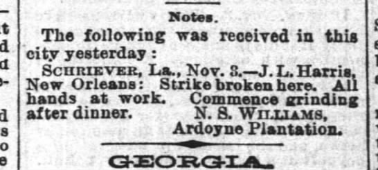 """Nov 4, 1887 - Times-Pic - ' Motes. --'"""" --'"""" --'"""" r The following was..."""