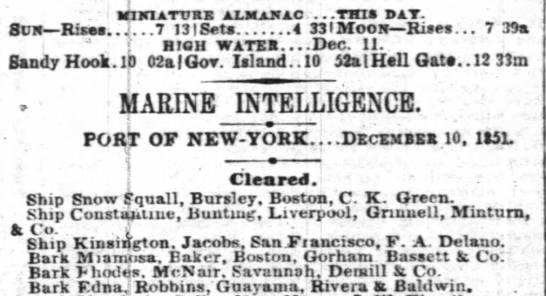 Guayama trade Dec 1851 - : MlXttrtltl aXJLsJfaO ...THIS BIT. Suit Rises....