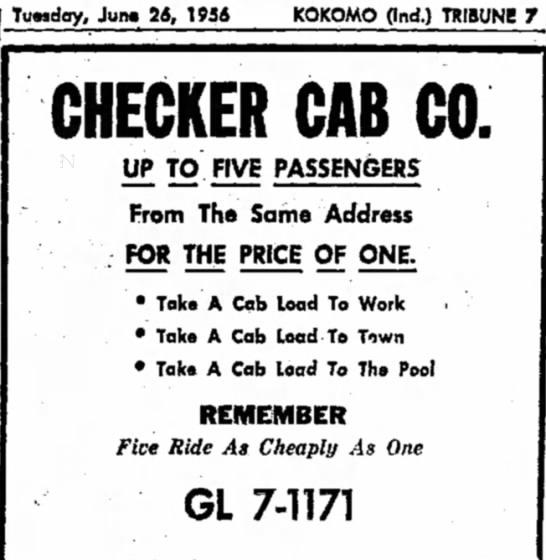 Checker Cab-1956