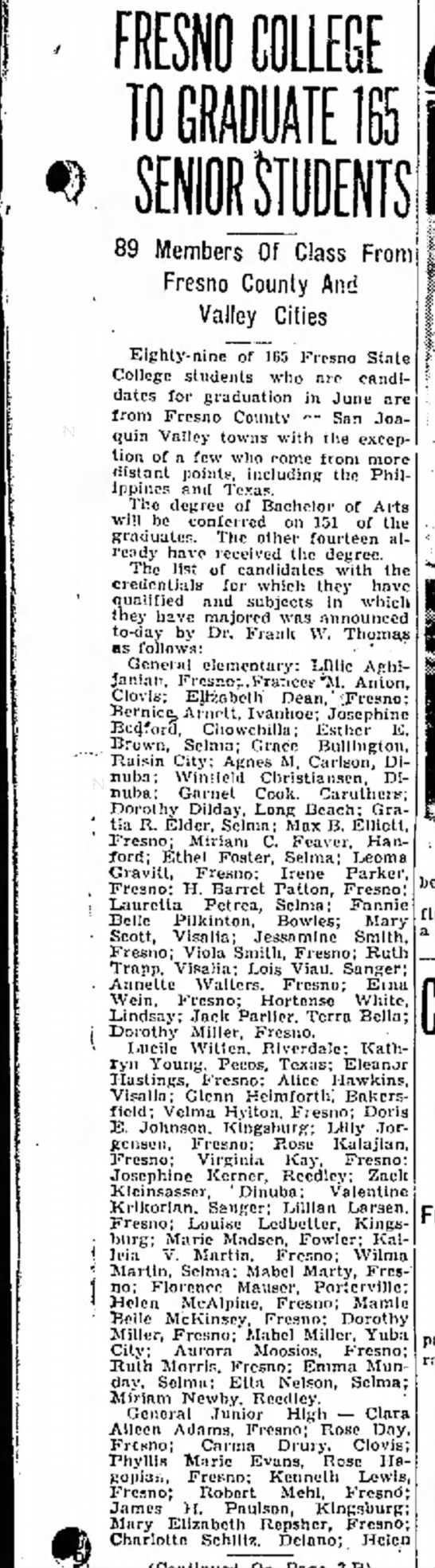 FANNIE BELLE PILKINTON