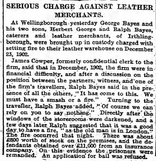 Guardian 16July 1904 - SERIOUS CHARGE AGAINST LEATHER MERCHANTS. At...
