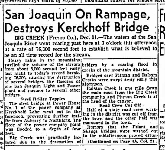 1937 San Joaquin on Rampage