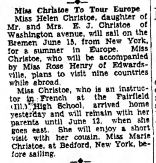 Helen Christoe