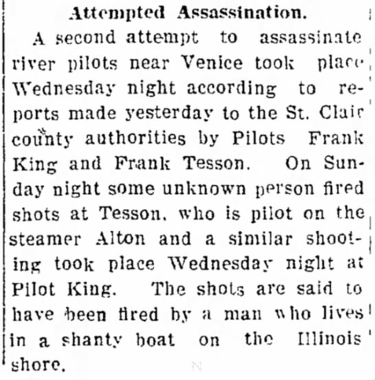 FKing 6261908 - Attempted Assassination. A second attempt to...