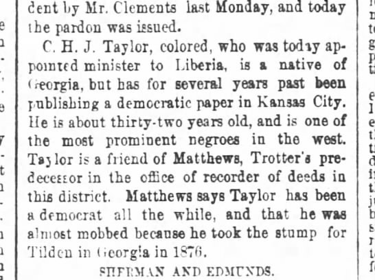 1887-03-13-AtlantaConstitution-p5-[TaylorNote] - president by Ly by Ly Mr. Mr Mr. Mr Clements...
