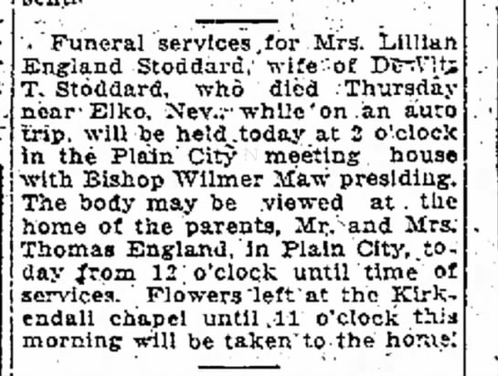 - support outlined '. Funeral services,for Mrs....