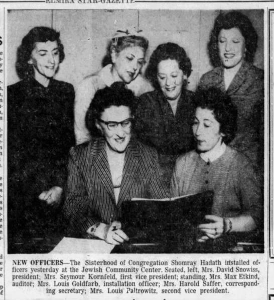 Mrs. Seymour Kornfeld 6-6-1956
