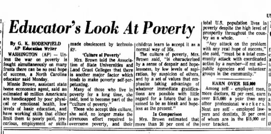 educators look at poverty - I'll the Educator's Look At Poverty In nights...