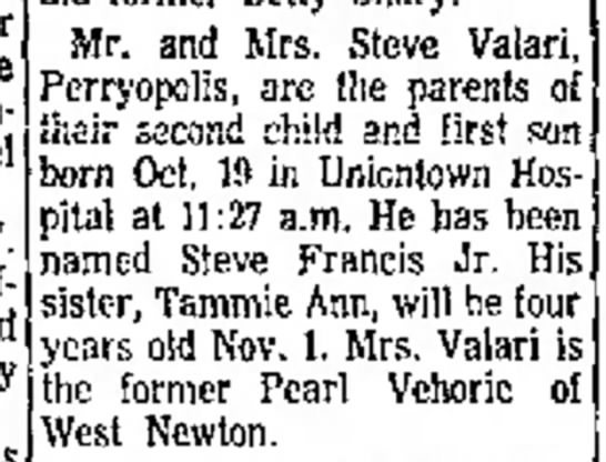 24 OCT 1963 - location W. off and Mr. and Mrs. Steve Valari...