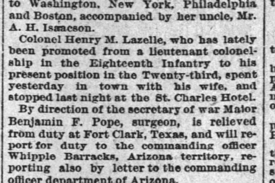 The Times-Picayune, New Orleans, 8 Oct 1889, pg. 4 - to Washington. New York, Philadelphia and...