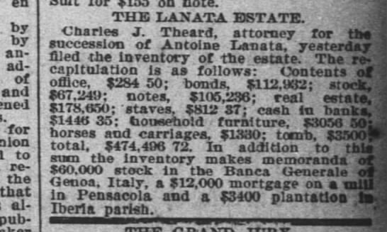 the lanata estate - en . by by answer advancing of and for to...