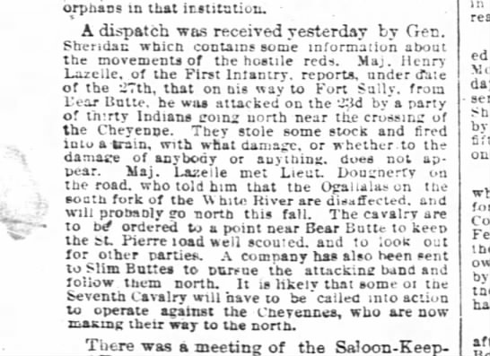 Chicago Daily Tribune, 28 Sept. 1878, pg. 8 - orphans in tuat that tuat that imitation....