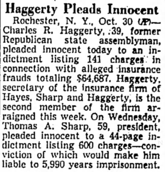 Haggerty Pleads Innocent - At will at of evening Haggerty Pleads Innocent...