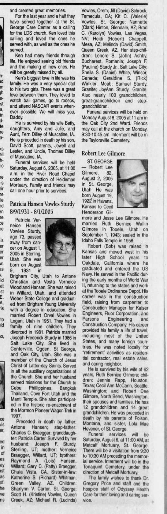 sturdy, patricia hansen - fun-loving, in he he is as at E. to in of of....