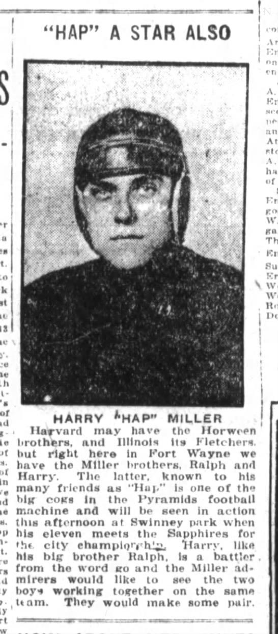 """Hap A Star Also, 1919 - """"HAP"""" A STAR ALSO I , """"m I ajflihlBay. """" - utgl..."""
