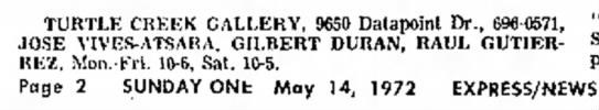 Gilbert Duran - Art Exhibit