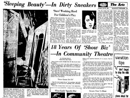 Janie Sherman, Kingsport Times-News, TN, 20 Jun 1965, p. 29.