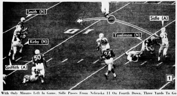 1964 Orange Bowl, Auburn's last play