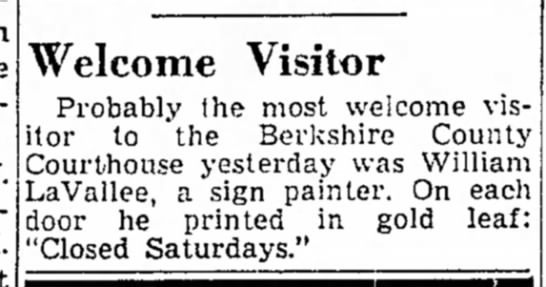 19 July 1947 - minister V. Welcome Visitor Probably Ihe most...