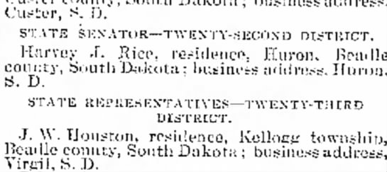 Certs of Nominations