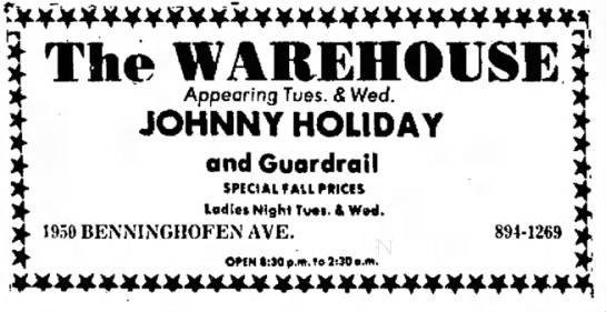 Hamilton Journal News September 26 1972 DONE - New m e n t s , N'cw ) * * ) · The WAREHOUSE...