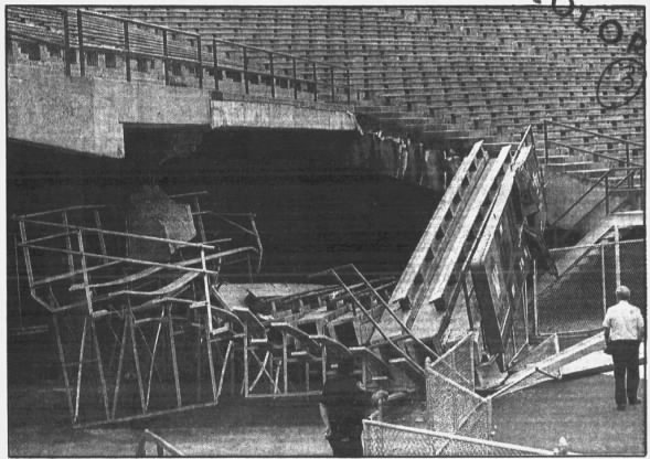 1993 Memorial Stadium section collapse