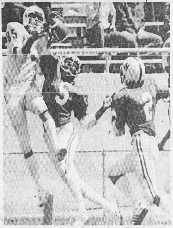 1976 Nebraska football spring game photo