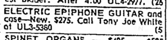 ad Corpus times 1966-09-24 - ELECTRIC EP!PHONE~GUITAR and ^nTf ^Ktt- Call...
