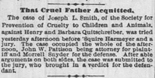 Morrel SnyderThat Cruel Father Acquitted - That Cruel Fntber Acquitted, Tbe case of Joseph...