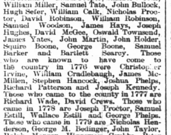 1777 Richard Wade - Williitm Miller. Samuel Tate, John Bullock,...