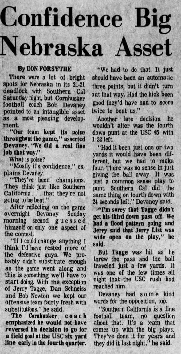 1970.09.20 Devaney day after USC