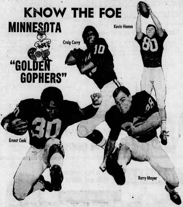 1970 Know the Foe: Minnesota
