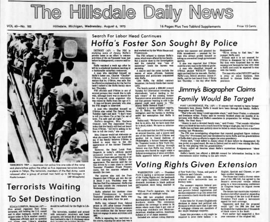 hoffa hillsdale