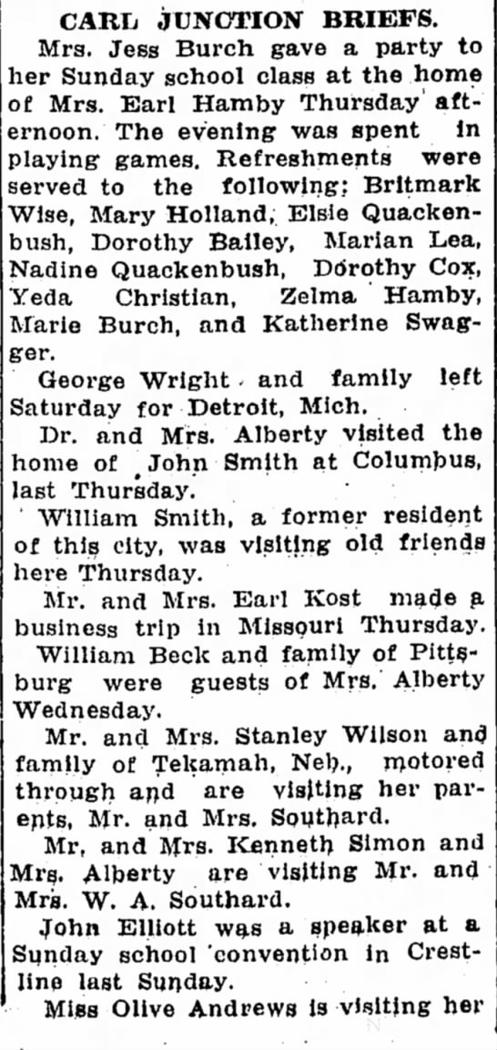 Dr and Mrs Alberty