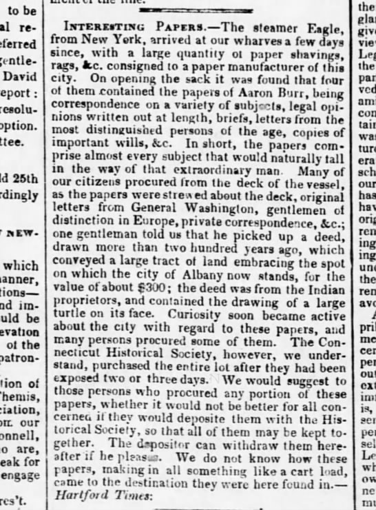 7 june 1843 the evening post - to be resolutions, referred gentlemen David...