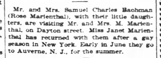 - Mr. and Mra Samuel Charles Baohcnaa (Rose...